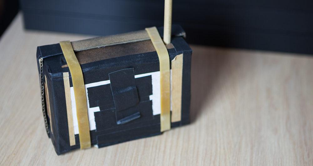 Sténopé en carton